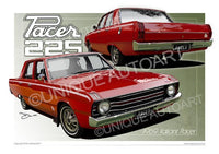 1969 Valiant Pacer - Little Hood Riding Red