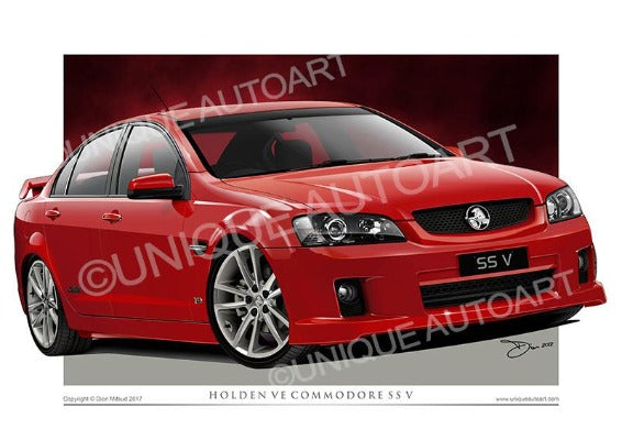 VE SS COMMODORE - REDHOT
