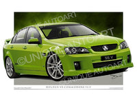VE SS COMMODORE- CRUNCH