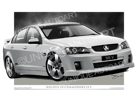 VE SS Commodore - HERON WHITE
