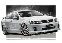VE SS COMMODORE- HERON WHITE