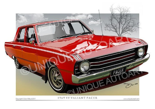 VF Valiant Pacer- Little Hood Riding Red