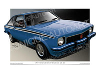 WINDSOR BLUE LX TORANA