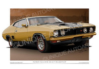 Falcon XB GT - Tropic Gold