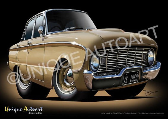 1960 Ford XK Falcon- Nullabor Beige