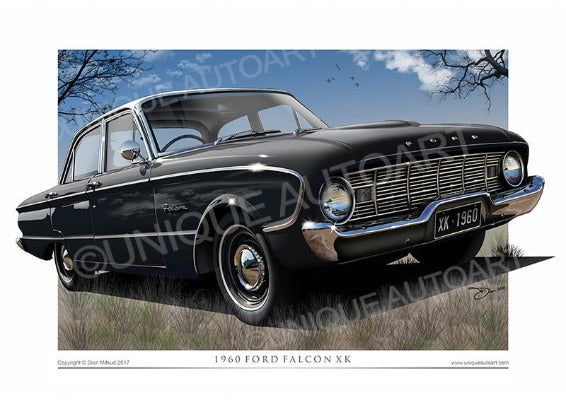 1960 XK Falcon- Raven Black