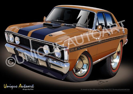 XY GTHO- Nugget Gold