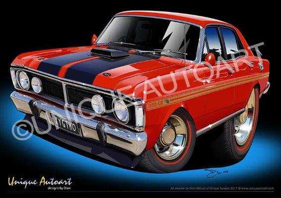 XY GTHO - Track Red