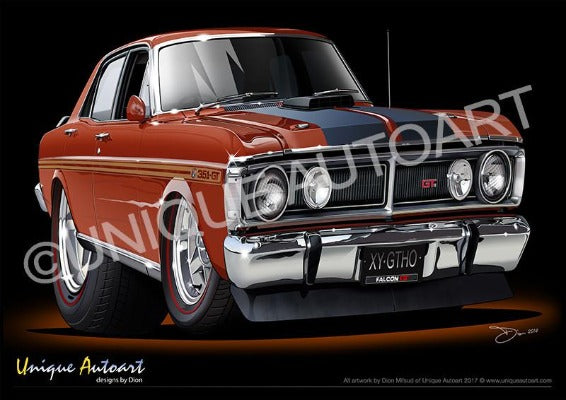 FALCON XY GTHO - BRONZE WINE