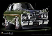 FALCON XY GT- JEWEL GREEN