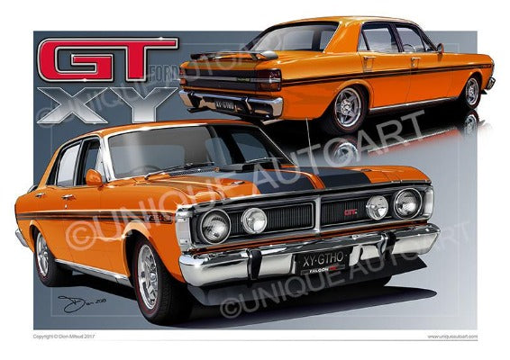 RAW ORANGE FALCON GT
