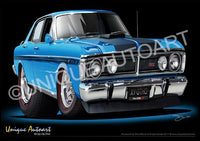 FALCON XY GT- TRUE BLUE