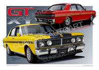 FORD MUSCLE CARS