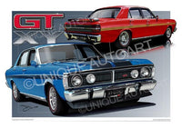 FALCON XY GTHO - ARTWORK