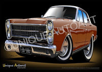 FORD FAIRLANE- BRONZE WINE