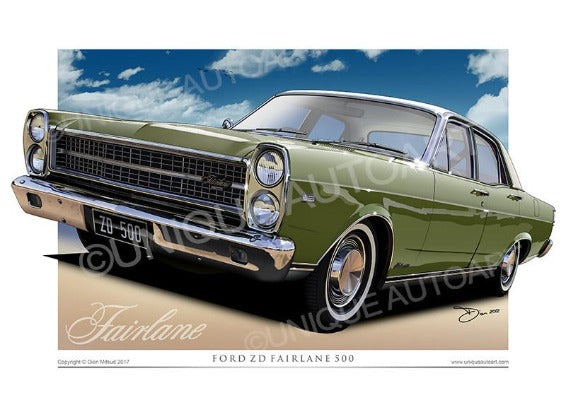 ZD Fairlane- Lime Frost