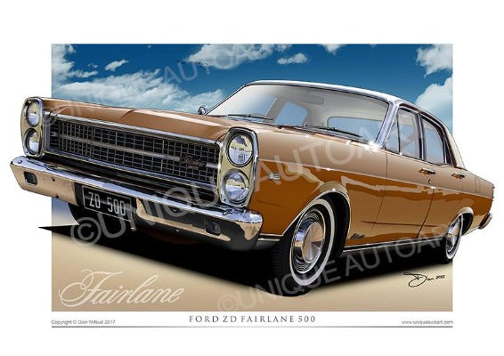 ZD Fairlane- Nugget Gold