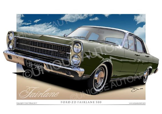 Ford Fairlane - Reef Green