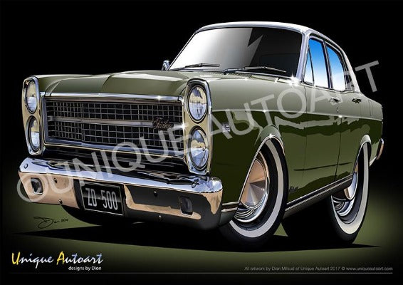 ZD FAIRLANE- REEF GREEN