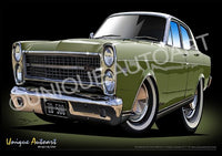 1970 FAIRLANE - LIME FROST