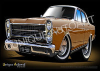 FORD ZD FAIRLANE- NUGGET GOLD