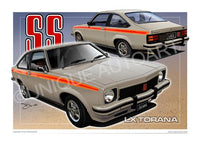 HOLDEN TORANA CAR PRINTS