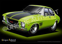 HQ Monaro- Barbados Green