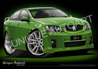 GREEN VE COMMODORE