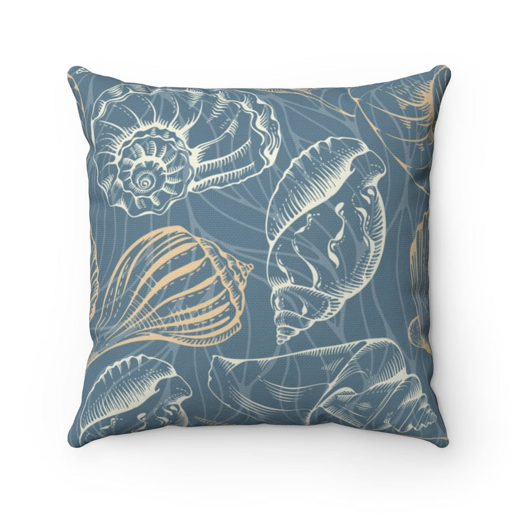Ocean Lane Square Pillow - Mountains & Mermaids
