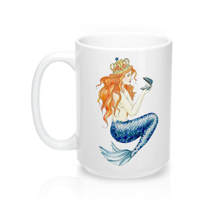 Pearl Mermaid Coffee Mug 15oz