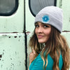 Fisherman Knit Beanie - Mountains & Mermaids