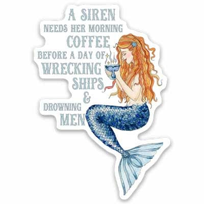 Siren's Brew Magnets - Mountains & Mermaids