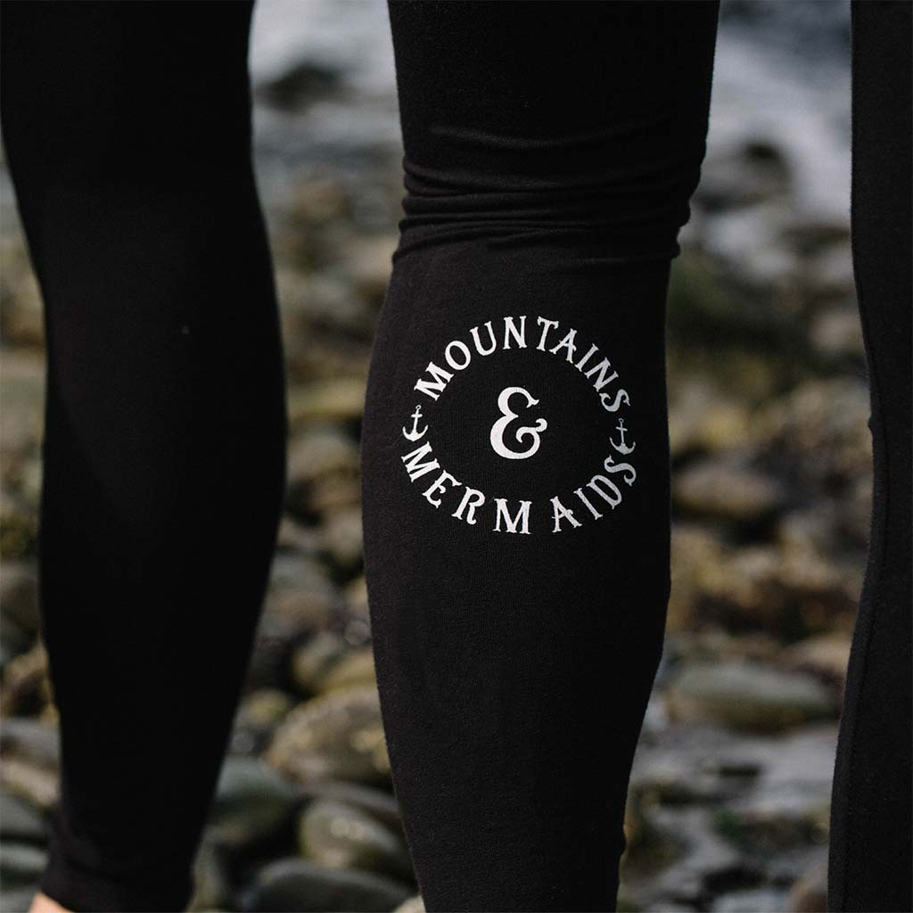 Mountains & Mermaids Classic Winter Leggings - Mountains & Mermaids