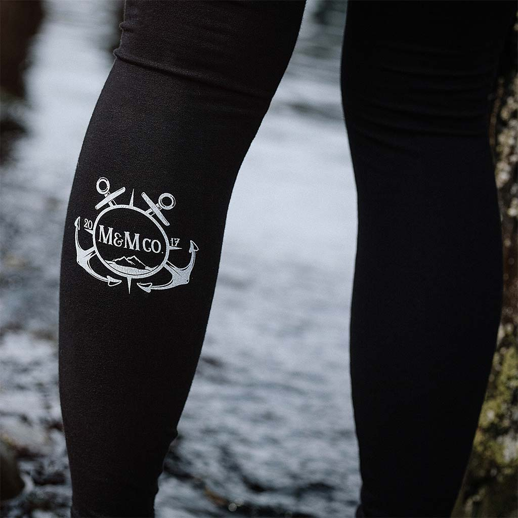 Mountains & Mermaids Maritime Winter Leggings - Mountains & Mermaids