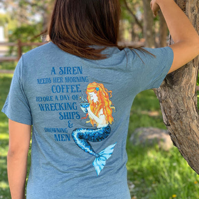 Siren's Brew Unisex T-Shirt - Mountains & Mermaids