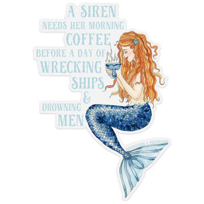 Siren's Brew Adventure Decal - Mountains & Mermaids