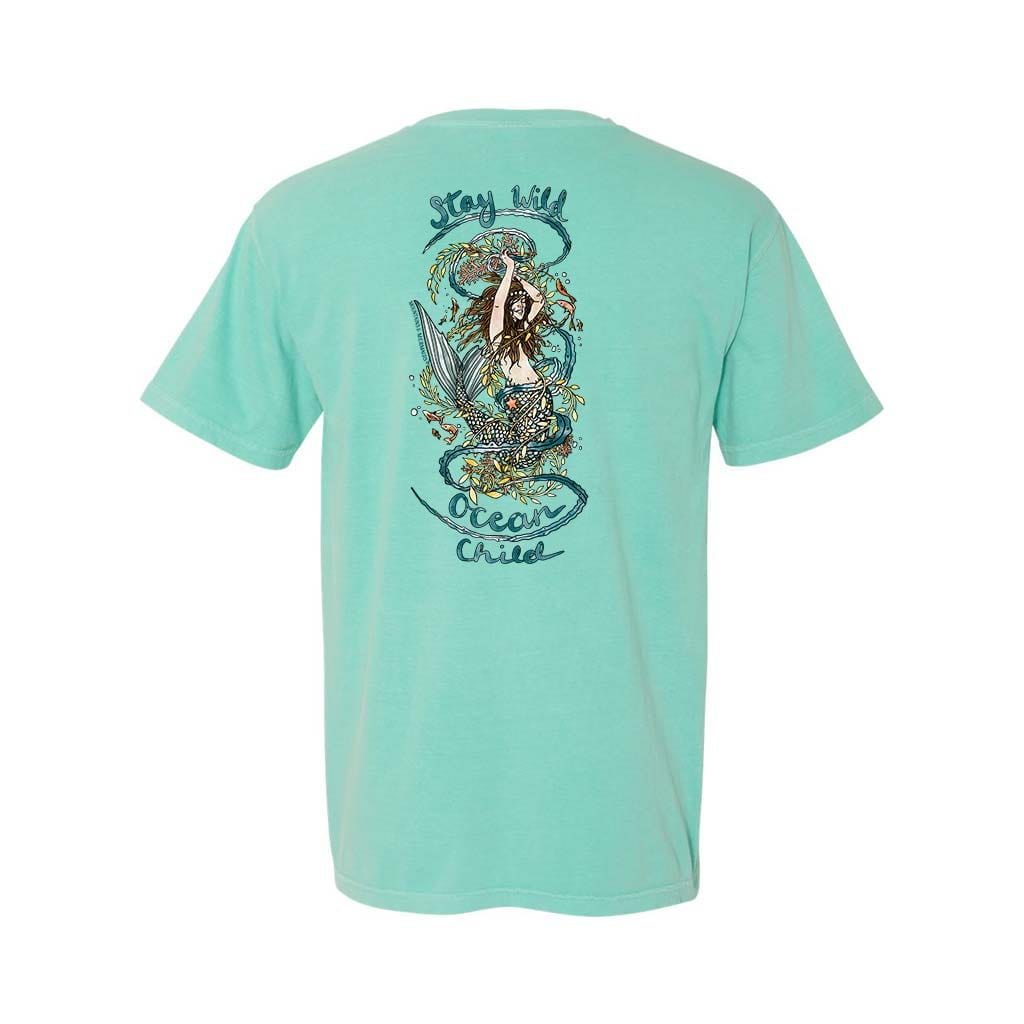 Stay Wild Ocean Child Unisex Tee - Mountains & Mermaids