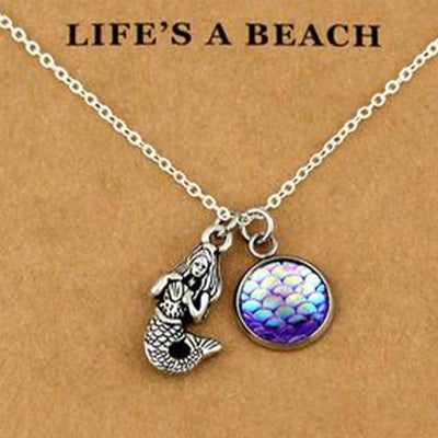 Mermaid Necklace - Mountains & Mermaids