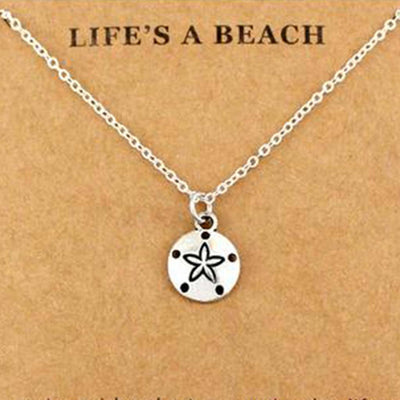 Life's A Beach Necklace - Mountains & Mermaids