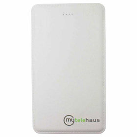 ABS Leather Card Inbuilt Wire 5000 mAh