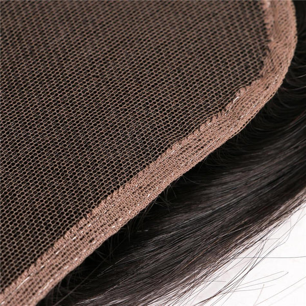 VRBest Body Wave Virgin Hair Closure 4*4 Free Middle Three Part