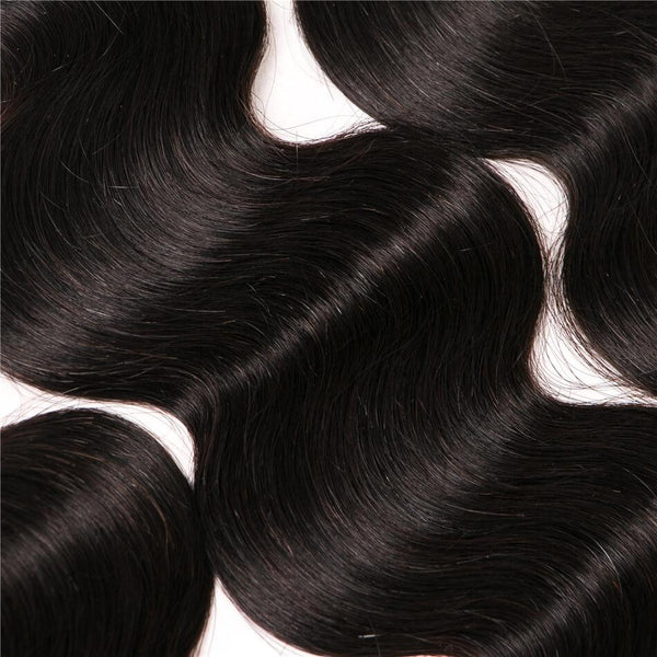 VRBest Body Wave 13*4 Ear To Ear Lace Frontal Closure Human Hair Closure
