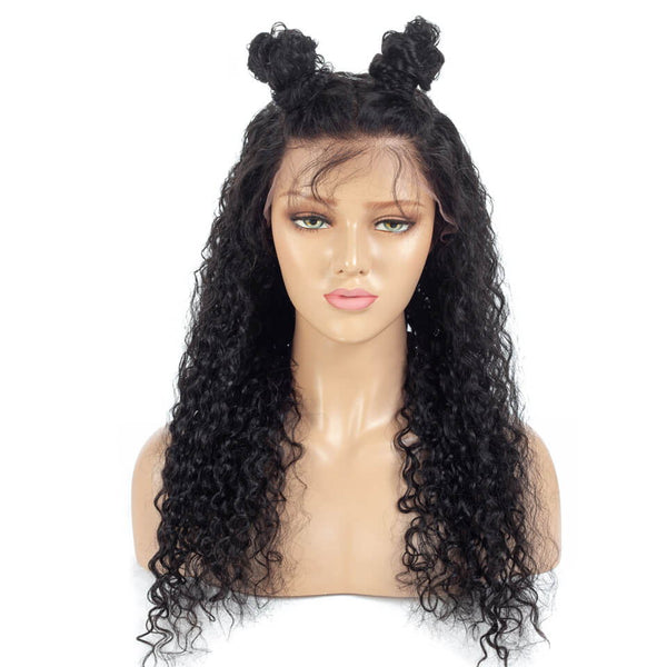 360 Wig Water Wave Hair Wigs Pre Plucked