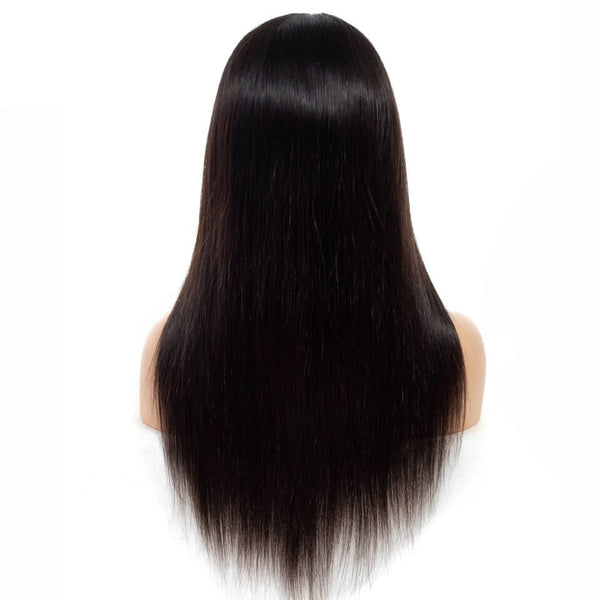 360 Wig Straight Hair Wigs Pre Plucked