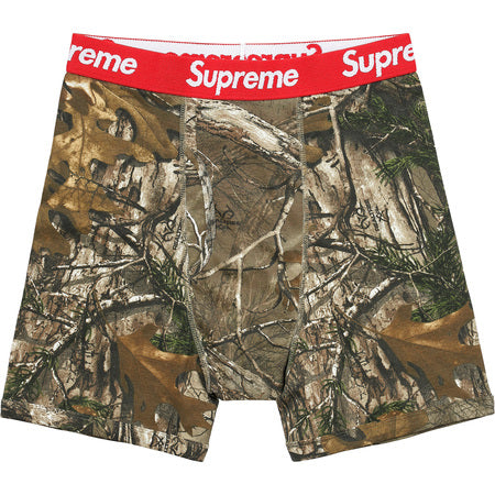 Supreme Hanes Realtree Boxer Brief Pack of 2