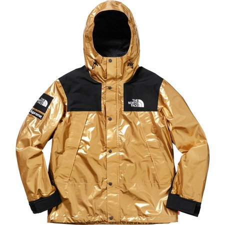 The North Face® Metallic Mountain Parka Gold