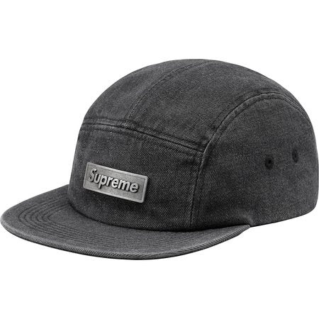 Metal Plate Camp Cap Black