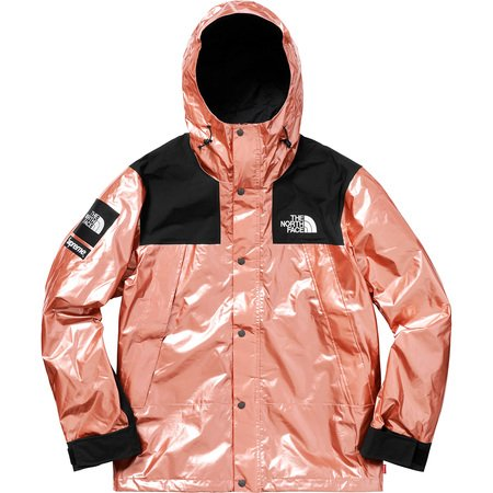 The North Face® Metallic Mountain Parka Rose Gold
