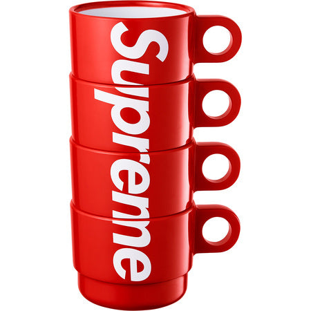 Stacking Cups (Set of 4) Red