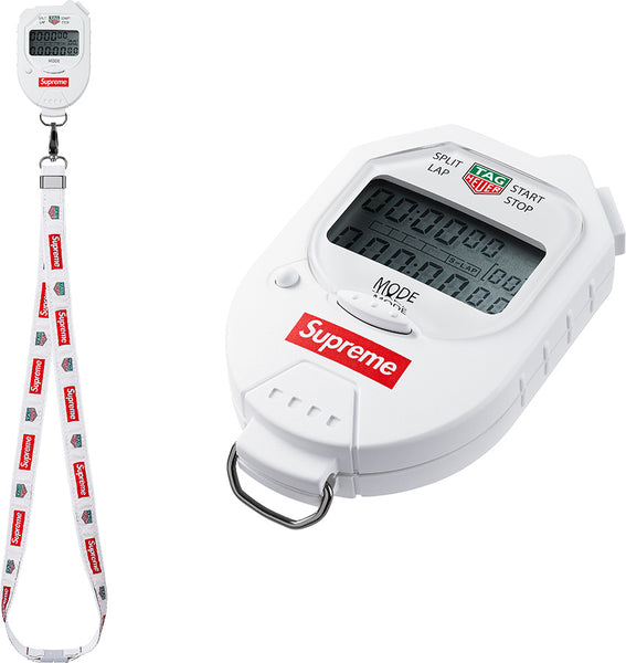 Supreme x Tag Heuer Stopwatch